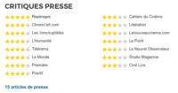 TROP TARD - Extraits de presse à la sortie du film en France